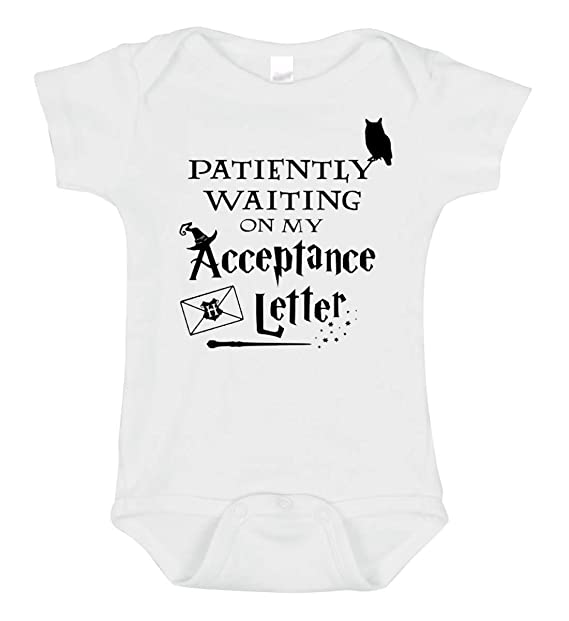 e52c1f17946 Amazon.com  SARBIEN Designs Waiting Letter Hogwarts Onesie