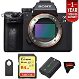 Sony a7 III Mirrorless Digital Camera (Body Only) International Version (No Warranty) Starters Kit