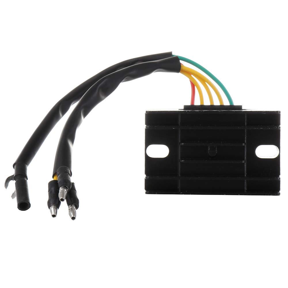 ECCPP Voltage Regulator Rectifier Fit for 1982-1983 Suzuki GS750T 1979-1981 Suzuki GS850G 1980-1981 Suzuki GS850GL 32800-44040 Rectifier Regulator