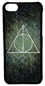 iPhone 6 Case, CellPowerCasesTM Harry Potter Deathly Hallows [Fit Series] -iPhone 6 (4.7) Black Case [iPhone 6 (4.7) V4 Black]