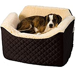 Pet Car Seat Covers.Lookout Car Seat.Dog Booster Seat.Dog Seat belt.Doggy Car Seat.Dog Car Carrier.Cat Car Seat. Size: Medium. Color Black & EBOOK BEST MEALS FOR YOUR DOG.