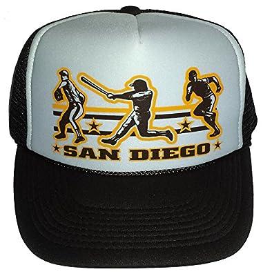 San Diego Baseball Mesh Snapback Trucker Hat Cap