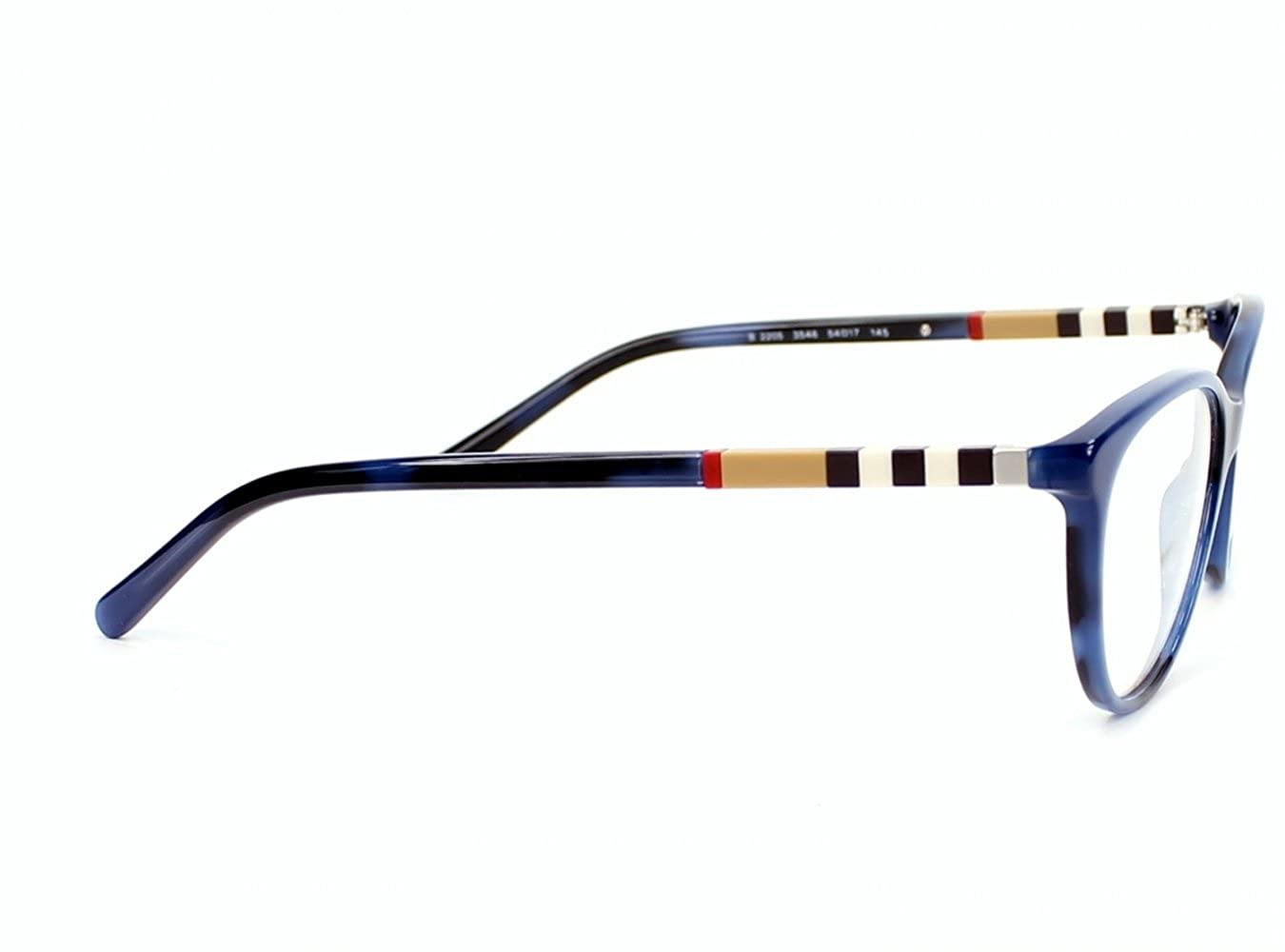 00c39d5559d BURBERRY BE 2205 Eyeglasses 3546 Spotted Blue 54-17-145  Amazon.co.uk   Clothing