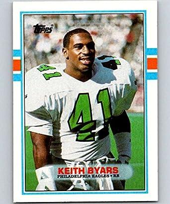 52496434620 Amazon.com: 1989 Topps #112 Keith Byars Eagles NFL Football ...
