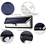 Solar LED Lights, Balight Outdoor Motion Sensor Light Wall Mount 66 LEDs Garden Landscape Spotlight Auto ON/Off Dusk to Dawn Nightlight Security Lighting for Garage Driveway Patio