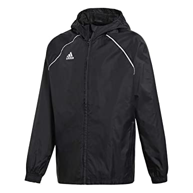 fa87484b4305c Adidas Core 18 Rain Jacket Kid's Soccer: Amazon.ca: Sports & Outdoors