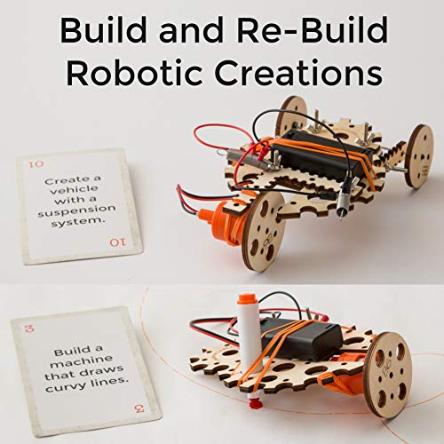 Tinkering Labs Electric Motors Catalyst, Robotics Stem Kit for Kids Age 8-12 by Tinkering Labs (Image #3)