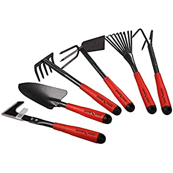 Gardening Tool Set Light Duty For Women Seniors Arthritis with Extra Long Handles Garden Perfect RAM-GnP-001