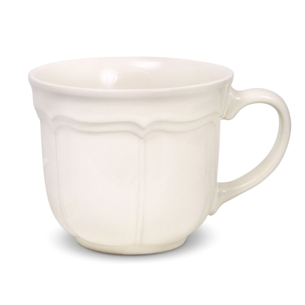 Mikasa French Countryside Jumbo Soup Mug with Lid, 18-Ounce