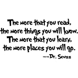 AmaonmRemovable Quotes and Saying Dr. Seuss the More...
