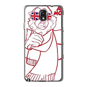 Scratch Resistant Hard Phone Case For Samsung Galaxy Note3 (WSY7911DEjn) Support Personal Customs HD Arctic Monkeys Band Series