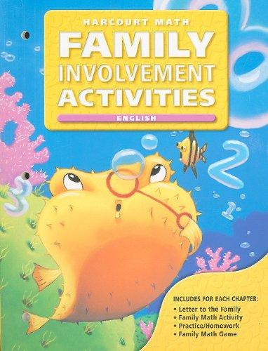 California Harcourt Math Family Involvement Activities: Grade 2