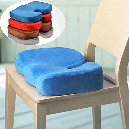 Foam Back Ache Pain Cushion Pillow Home Office Car Seat Chair
