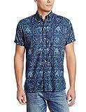 Reyn Spooner Men's Lahaina Sailor Shirt, Royal, XX-Large