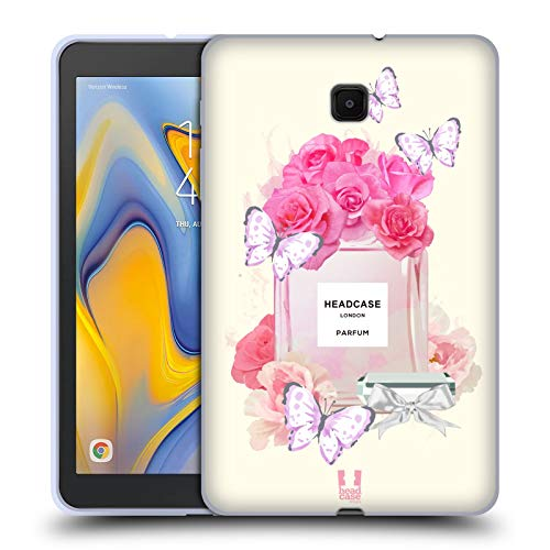 (Head Case Designs Perfume Vanity Collection Soft Gel Case Compatible for Galaxy Tab A 8.0 (2018))