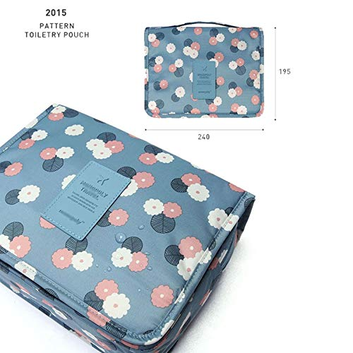 Amazon.com: Funnmart Waterproof Portable Travel Pouch Toiletry Bags Women Cosmetic Organizer Pouch Hanging Cute Wash Bags Makeup Bags Professional: Kitchen ...