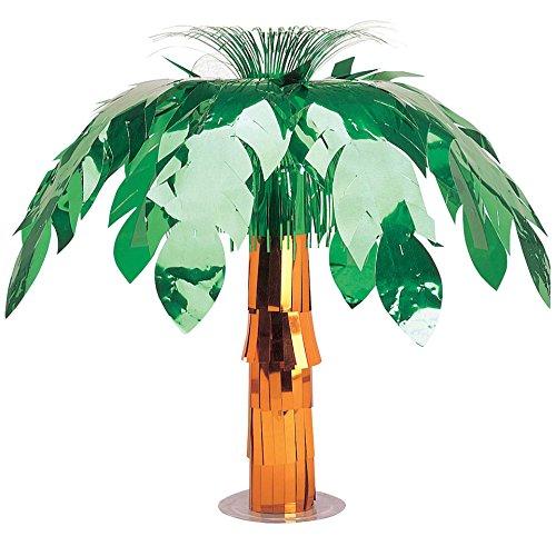 Amscan Foil Palm Tree Party Centerpiece, 20