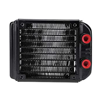 NEW G1//4 90mm Aluminum Computer Water Cooling Cooler Radiator For CPU  US