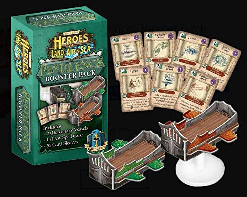 (Heroes Of Land Air And Sea Board Game - Pestilence Booster Pack)
