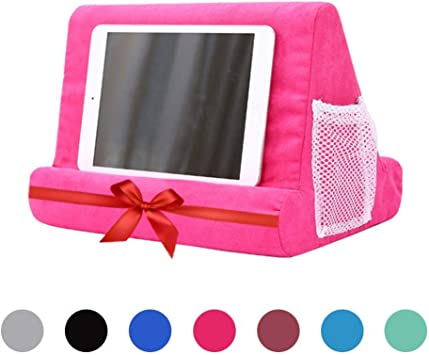 Multi-Angle Soft Pillow Lap Stand Tablet Stand Cushion for IPads EReaders Books