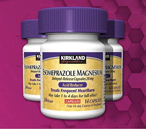 (Kirkland Signature Magnesium Acid Reducer (Compare to Nexium) 24 Hour Delayed-Release Capsules 20mg, 42 Count )