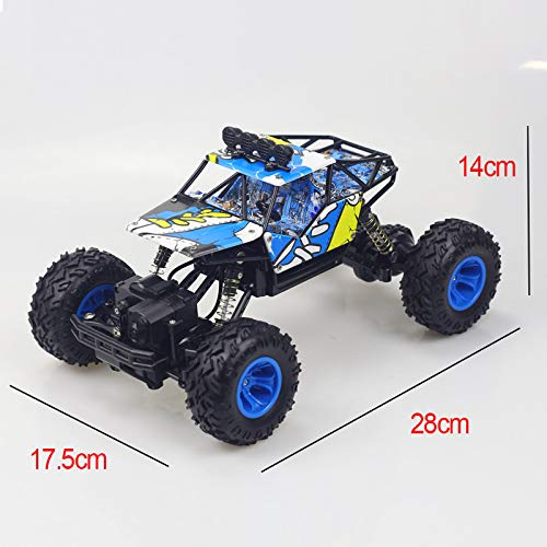 RC Car RC Monster Truck 1:16 Rechargeable RC Car Remote/Radio Control Car Electric Radio Off Road Vehicle Racing Rock Climber Racing Toy Car for All Adults and Kids