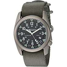 Bertucci A-4T Illuminated Watch Black Tube - Defender Drab Nylon - w/ Tritium & Sappire