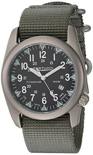 Bertucci A-4T Yankee Illuminated Watch Black/Ti-Def Drab Band 13410