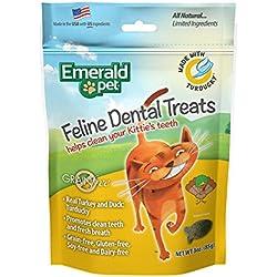 Smart N' Tasty Grain Free Turducky All Natural Feline Dental Treats For Cats, 3-Ounce