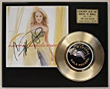Carrie Underwood Gold Record Signature Series LTD Edition Display