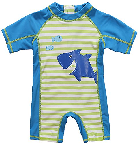 Baby Boys and Girls One Piece Rash Guard Swimsuit One Piece Swimsuit for Kids