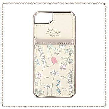 7c427d25a0 【フラワーリング】FLOWERING SCC8004-B カードカバーケース ボタニカルデザイン [iPhone 8