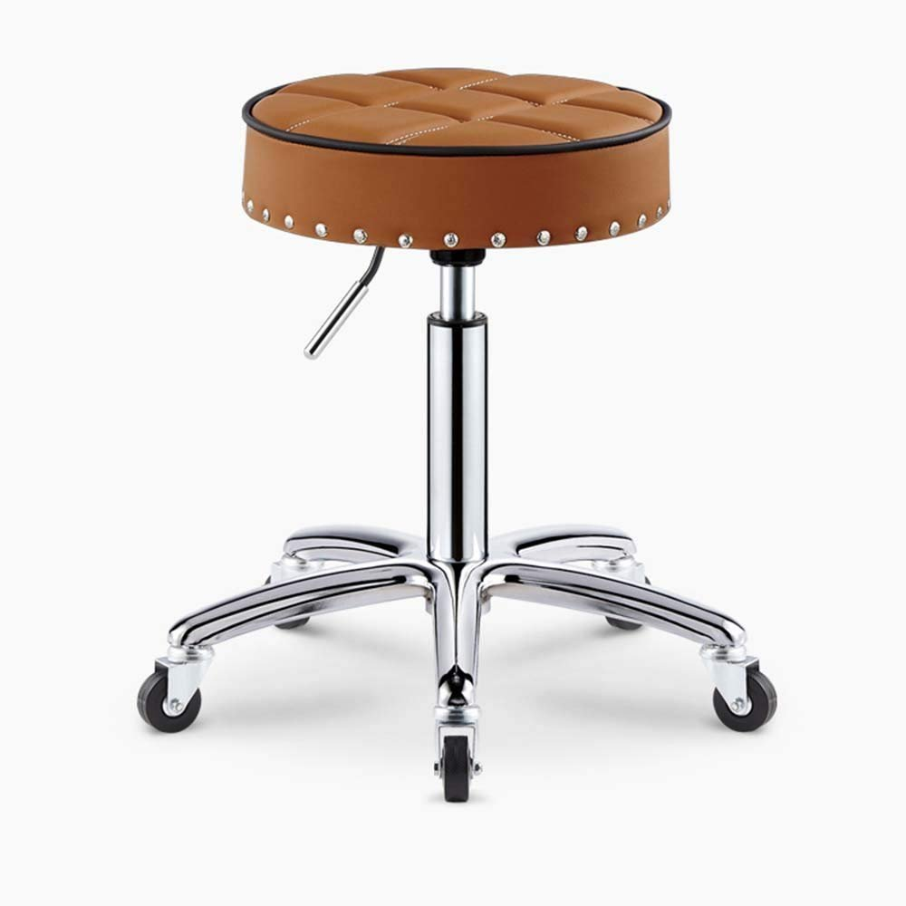 6 QTQZ Brisk- Beauty Armchair Bar Stool The Reception can be Turned up and Down Sofa Stool Bar Stool Hair Stool with Rear Sofa Stool (color Optional) (color  1)