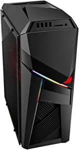ASUS - Gaming Desktop - Intel Core i7-9700F - 16GB DDR4-SDRAM Memory - NVIDIA GeForce RTX 2060-1TB Hard Drive + 256GB Solid State Drive - Iron Gray - Windows 10