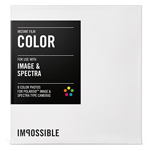 Impossible Project Color Film for Polaroid SPECTRA Cameras (10-Pack Bundle) by Impossible