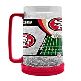 NFL San Francisco 49Ers 16oz Crystal Freezer Mug