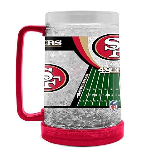 NFL San Francisco 49Ers 16oz Crystal Freezer ()