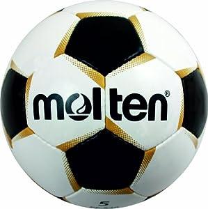 Molten Fußball PF-541, WEISS/GOLD/SCHWARZ, 4