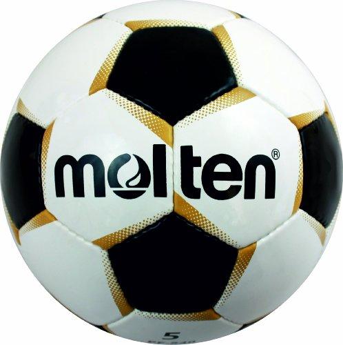Molten Fußball PF-540, WEISS/GOLD/SCHWARZ, 5