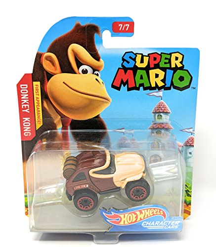 (Hot Wheels Super Mario Character Cars - Donkey Kong First Appearance)