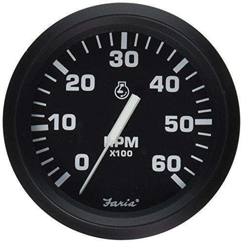 Faria 32804 Tachometer-6000 RPM, Euro ()