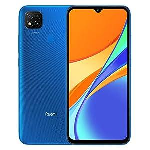 Xiaomi Redmi 9C Smartphone 3GB RAM 64GB ROM Teléfono Inteligente,MTK G25 Octa Core Procesador 6,53″ DotDrop Pantalla,Dual SIM Micro-SD,13MP Triple Cámara AI Face Unlock (Azul)