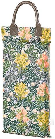 V & A va053Morris Kniebank für den Garten mit Blumen–grün