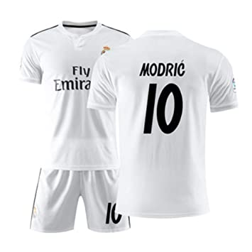 SDQ Real Madrid Modric#10 RM Fútbol Home Camiseta Y ...