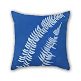 Slimmingpiggy Oil Painting Anna Atkins - Asplenium Braziliense, S. America Pillow Covers 20 X 20 Inches / 50 By 50 Cm For Boy Friend,teens Girls,indoor,festival,kitchen With Two Sides offers
