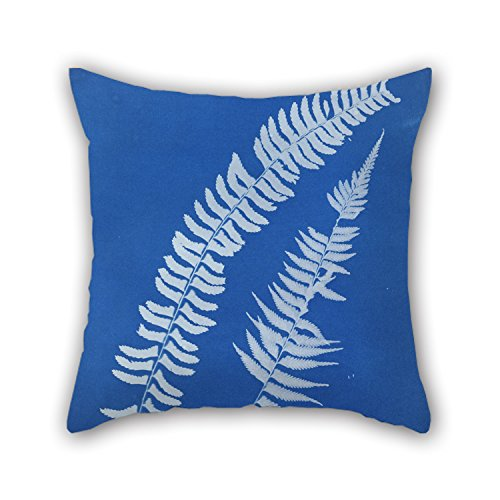 [Slimmingpiggy Oil Painting Anna Atkins - Asplenium Braziliense, S. America Pillow Covers 20 X 20 Inches / 50 By 50 Cm For Boy Friend,teens Girls,indoor,festival,kitchen With Two] (The Incredibles Costumes Nz)