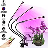 Cheap Grow Light, Dimmable LED Grow Lamp Bulbs Plant Lights Full Spectrum with Remote Control, 3 Separate Control Switches, with Red/Blue Switching, Timing Function, 108 LED Indoor Plant for Hydroponics Gre
