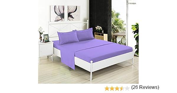 Scala Home - Juego de sábanas (4 piezas, 600 hilos, 100% algodón ...