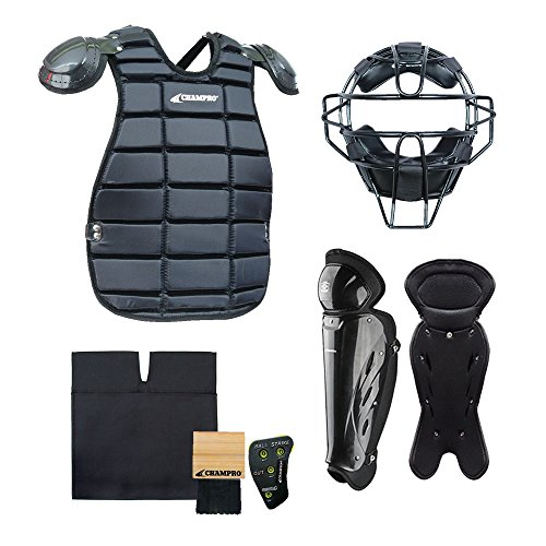 CHAMPRO Sports Starter Umpire KIT-BLACK (Leg Starter Set)