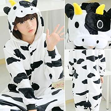bfb99aa9ca JYLW Pijamas Invierno Mujer Adultos Unicornio